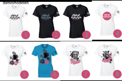 De Straatfeesten limited edition T-shirt - dames