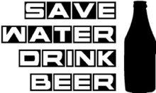 bedrukking-save-water-drink-beer