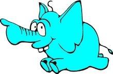 bedrukking-olifant